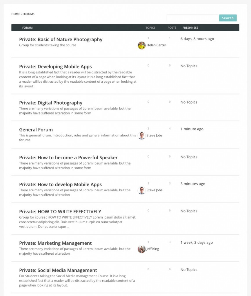 forums-directory